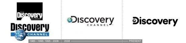 Discovery Channel Logo Redesign Evolution: logo design atlanta ga