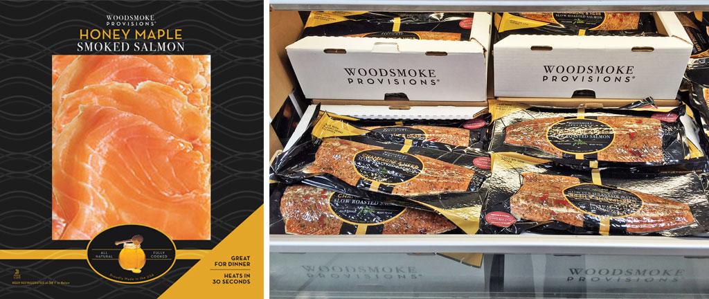Food packaging design - fish