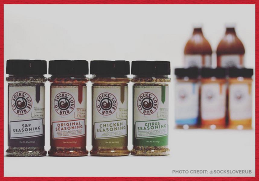 Food packaging design for seasoning