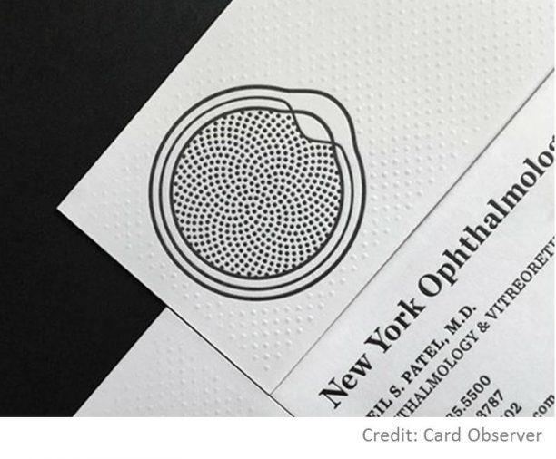 business card design logo