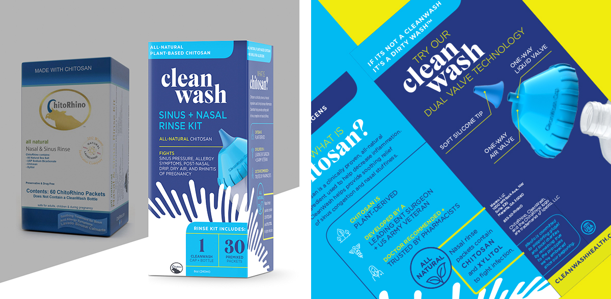 id8 design of CleanWash package