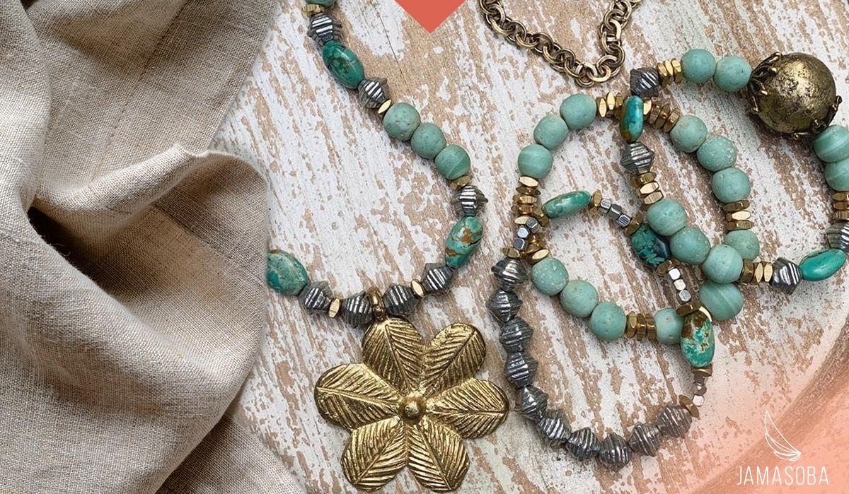 Sampling of Jamasoba Jewelry