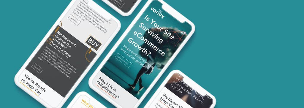 Responsive Mobile Friendly Website