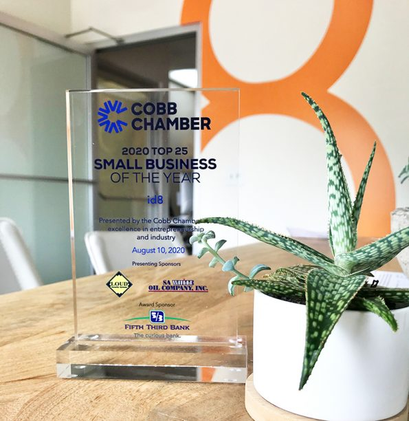 id8 named to 25 top small businesses in Cobb County