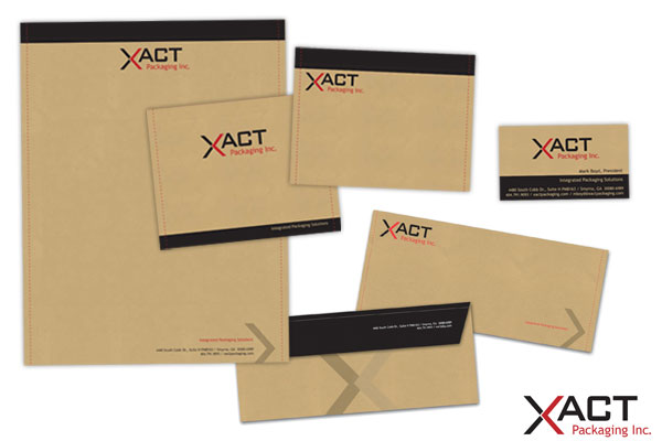 Corporate Identity package for XACT.