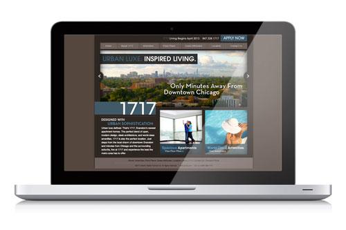 1717 Website & Branding