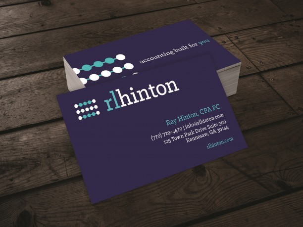 Graphic Design Atlanta Business Card