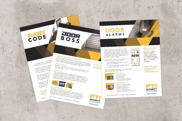 sales sheets design
