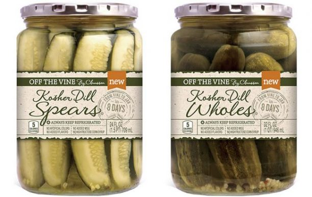 pickle packaging design