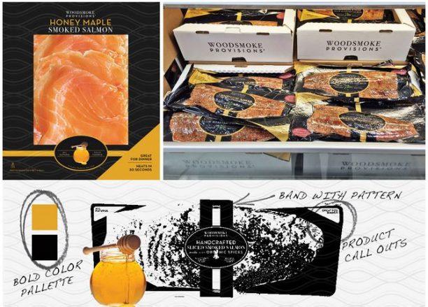 packaging design seafood