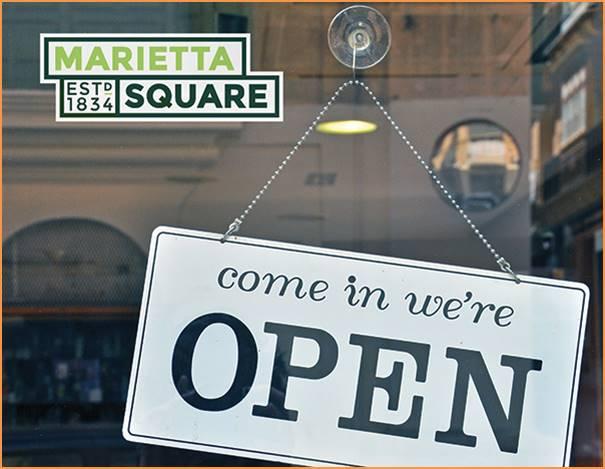 civic branding Marietta