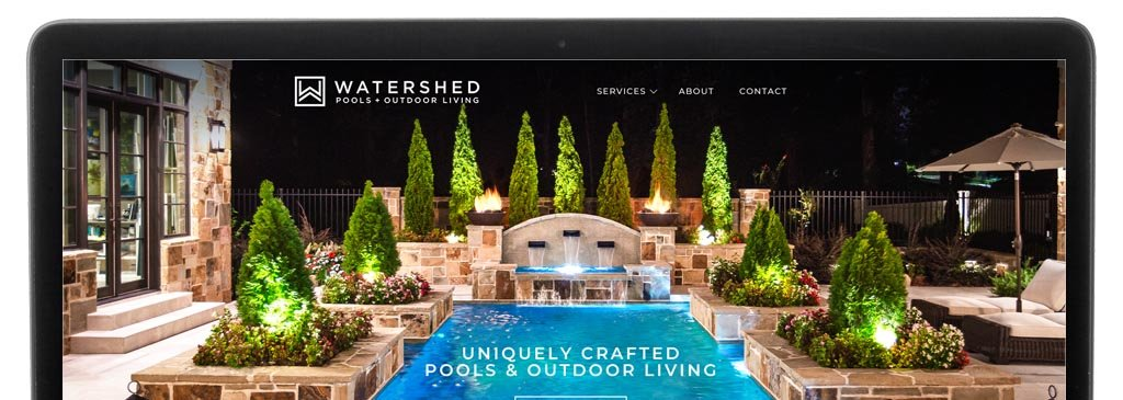 Website Design for Watershed Pools