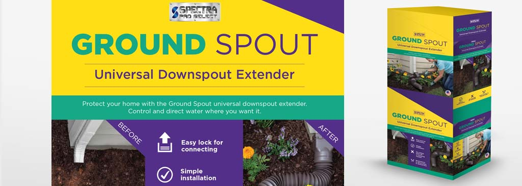Packaging Design Point of Purchase Design for a Product Called Ground Sprout for Tractor Supply