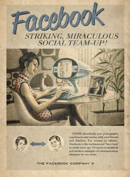 Back to the Future: Retro Social Media Ad Campaigns